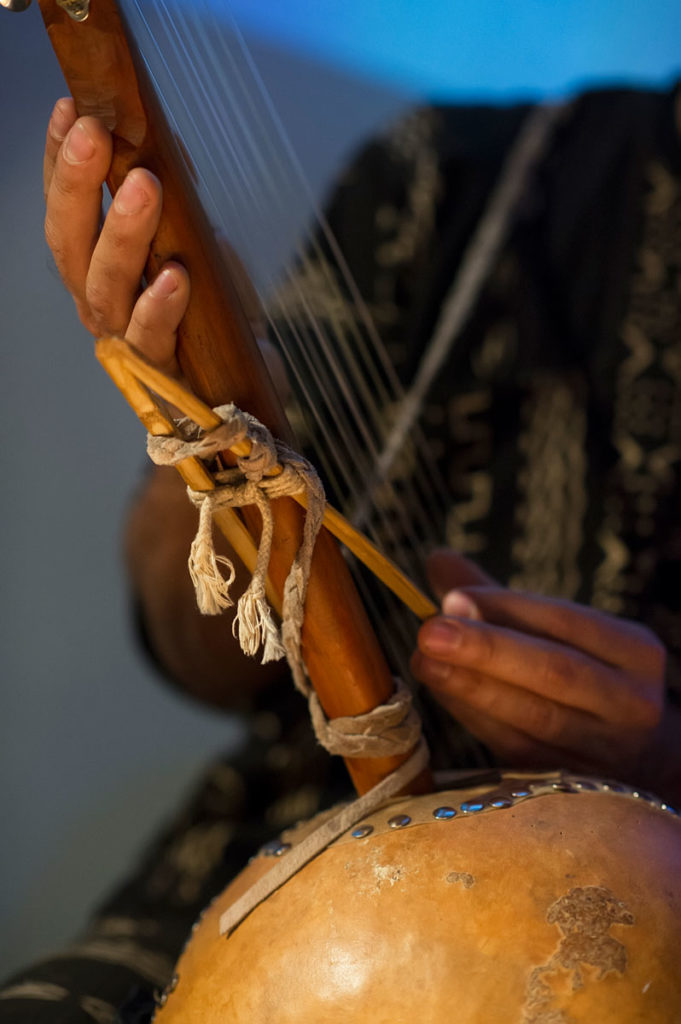 Gabe Harris Ngoni Closeup
